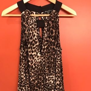 Tops - Kenneth Cole Leopard Print sleeveless top